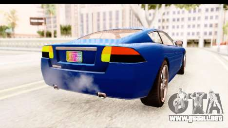 GTA EFLC TBoGT F620 v2 para GTA San Andreas left