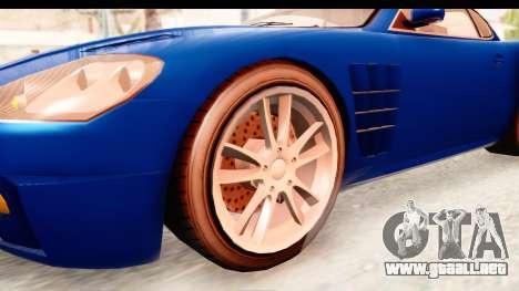 GTA EFLC TBoGT F620 v2 para GTA San Andreas vista hacia atrás