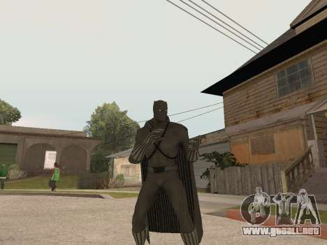 Marvel: Ultimate Alliance 2 - Black Phanter para GTA San Andreas tercera pantalla