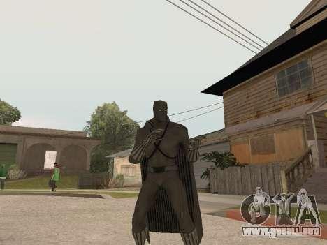 Marvel: Ultimate Alliance 2 - Black Phanter para GTA San Andreas tercera pantalla