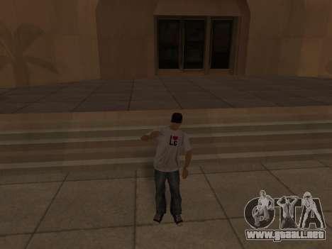 White CJ v3 Improved para GTA San Andreas novena de pantalla