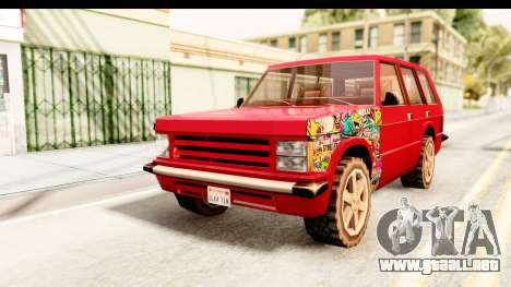Huntley Sticker Bomb para GTA San Andreas