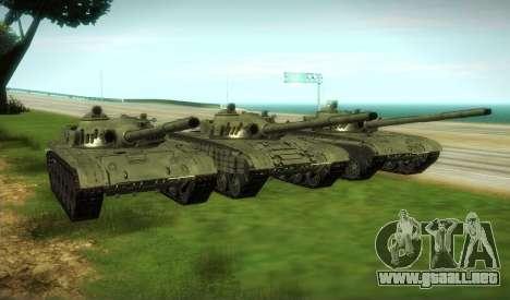 T-72, Modificado para GTA San Andreas vista hacia atrás