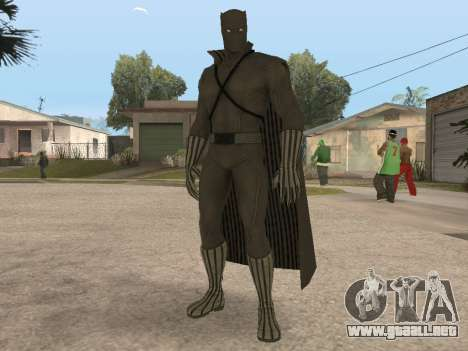 Marvel: Ultimate Alliance 2 - Black Phanter para GTA San Andreas