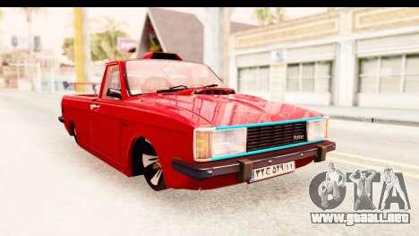 Peykan Pickup Full Sport Iranian para GTA San Andreas