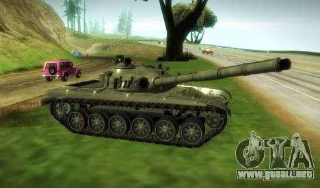 T-72, Modificado para GTA San Andreas vista posterior izquierda