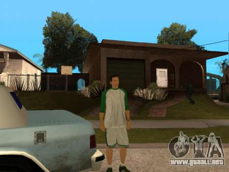 White CJ v3 Improved para GTA San Andreas octavo de pantalla
