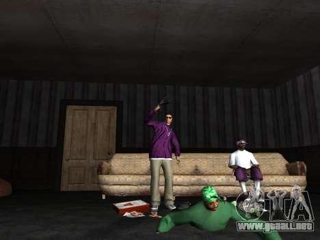 White CJ v3 Improved para GTA San Andreas sucesivamente de pantalla