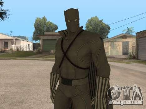 Marvel: Ultimate Alliance 2 - Black Phanter para GTA San Andreas segunda pantalla