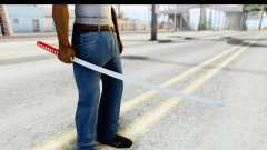 Katana from GTA Advance para GTA San Andreas