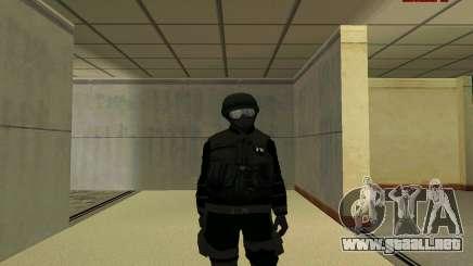 La piel de la FIB SWAT de GTA 5 para GTA San Andreas