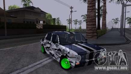 VAZ 2101 es un Coche de Carreras 2 para GTA San Andreas