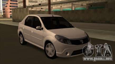 Dacia Logan Londero Misterios Urechiata para GTA San Andreas