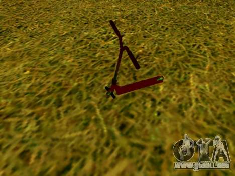 Scooter Stunt para GTA San Andreas left