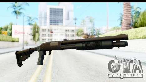 Tactical Mossberg 590A1 Black v4 para GTA San Andreas segunda pantalla