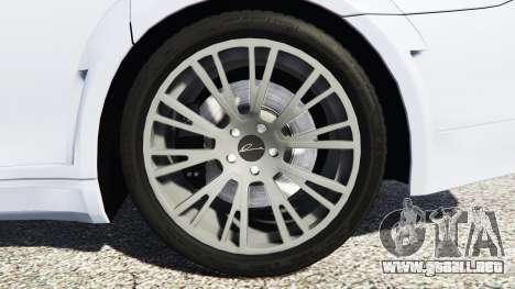 GTA 5 BMW 760Li (F02) Lumma CLR 750 [replace] vista lateral trasera derecha