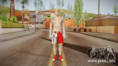 Sleeping Dogs - Wei Shen Muay Thai DLC Bald para GTA San Andreas segunda pantalla