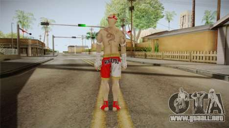 Sleeping Dogs - Wei Shen Muay Thai DLC Bald para GTA San Andreas tercera pantalla