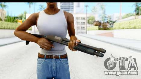 Tactical Mossberg 590A1 Black v4 para GTA San Andreas