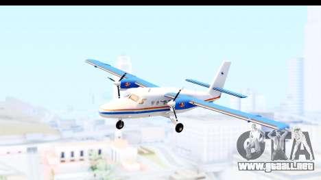 DHC-6-400 RCMPGRC para GTA San Andreas vista posterior izquierda