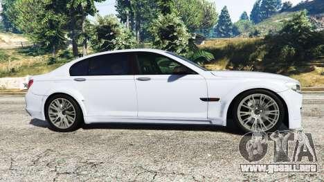 GTA 5 BMW 760Li (F02) Lumma CLR 750 [replace] vista lateral izquierda