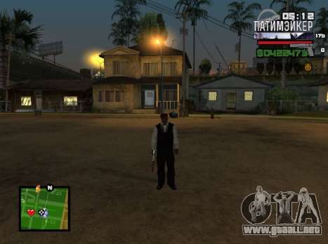 C-HUD Party Maker para GTA San Andreas