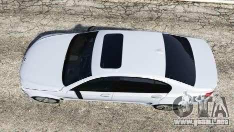 GTA 5 BMW 760Li (F02) Lumma CLR 750 [replace] vista trasera