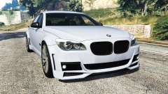 BMW 760Li (F02) Lumma CLR 750 [replace] para GTA 5