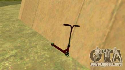 Scooter Stunt para GTA San Andreas