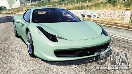 Ferrari 458 Italia [replace] para GTA 5