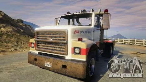 Teller-Morrow Towtruck from SOA para GTA 5