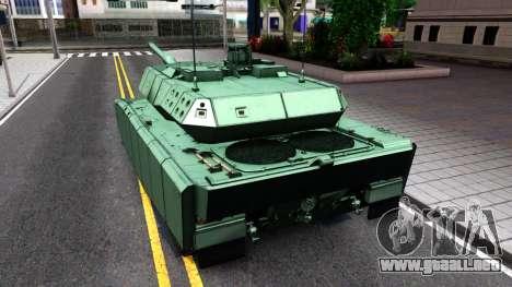 Leopard 2A7 para la visión correcta GTA San Andreas