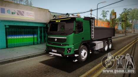 Volvo FMX dump Truck para GTA San Andreas