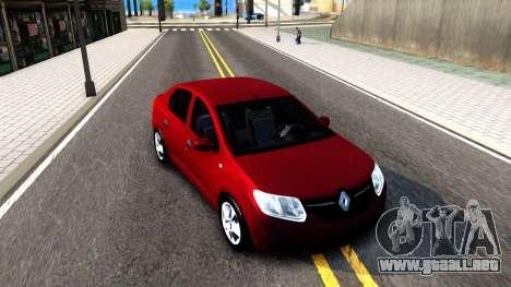 Renault Symbol 2013 para GTA San Andreas