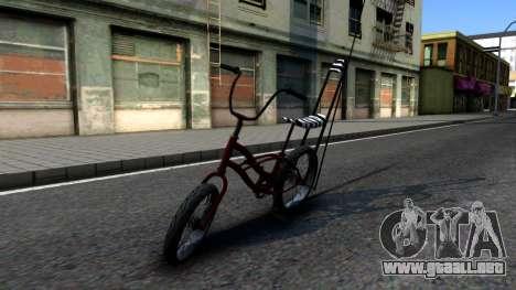 GTA SA Bike Enhance para GTA San Andreas left