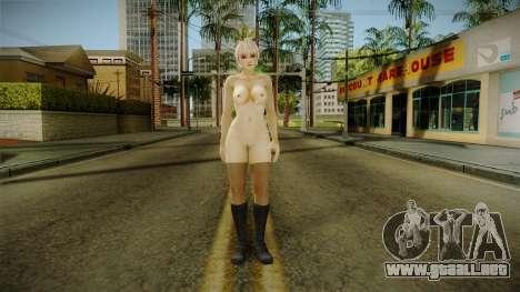 Kasumi from DevientArt Nude para GTA San Andreas