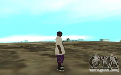 The Ballas 3 para GTA San Andreas segunda pantalla
