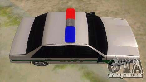 1992 Declasse Premier Angel Pine PD para visión interna GTA San Andreas