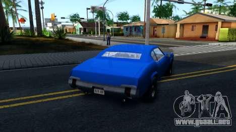VC Xbox Sabre para la visión correcta GTA San Andreas