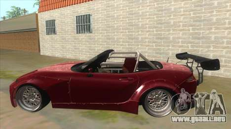 Mazda MX-5 2016 para GTA San Andreas left