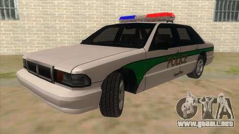 1992 Declasse Premier Angel Pine PD para GTA San Andreas