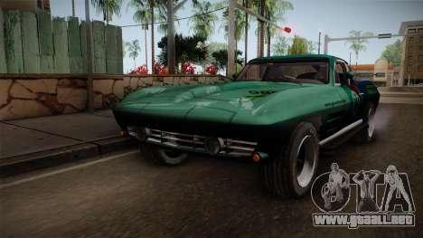 Chevrolet Corvette Coupe 1964 para GTA San Andreas