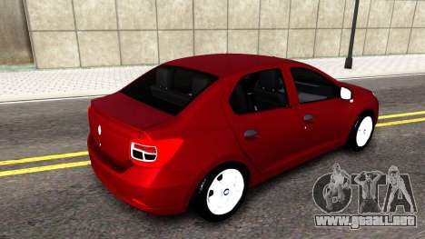 Renault Symbol 2013 para GTA San Andreas left