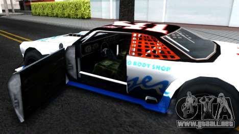 Drift Tampa para visión interna GTA San Andreas