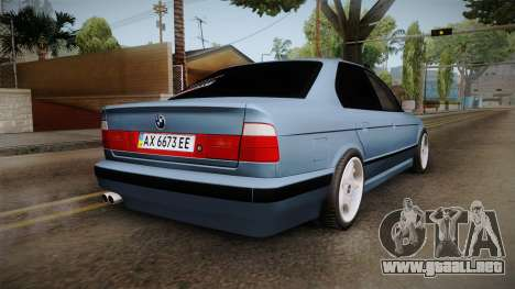 BMW Serie 5 E34 ЕК para GTA San Andreas left