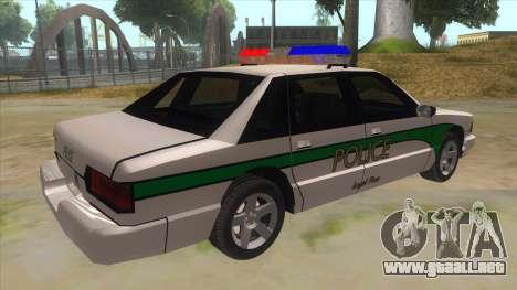 1992 Declasse Premier Angel Pine PD para la visión correcta GTA San Andreas