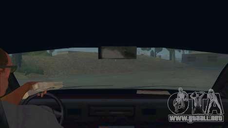 New Taxi para visión interna GTA San Andreas