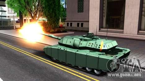 Leopard 2A7 para visión interna GTA San Andreas