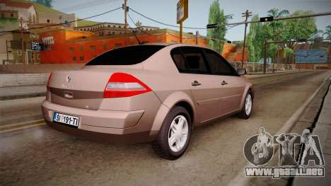 Renault Megane Sedan para GTA San Andreas left