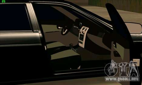 Lada 2170 PRIORA para la visión correcta GTA San Andreas